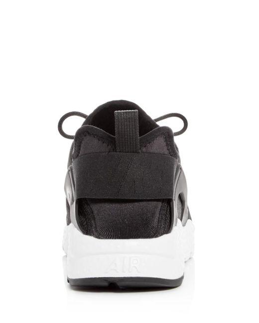 separation shoes d3f09 04a2b ... jd sports half price sale 6b9a9 7d227 closeout nike black womens air  huarache run ultra lace up sneakers afce1 8d7e2 ...
