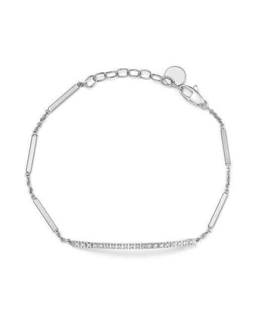 Marco Bicego | 18k White Gold Goa Diamond Chain Bracelet | Lyst