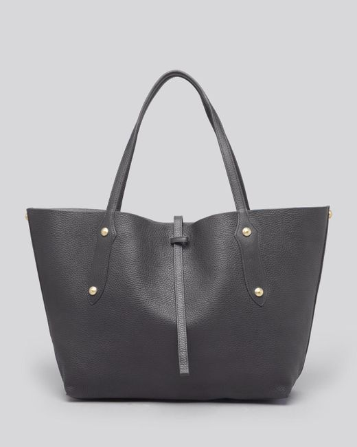 Annabel Ingall - Gray Isabella Small Leather Tote - Lyst