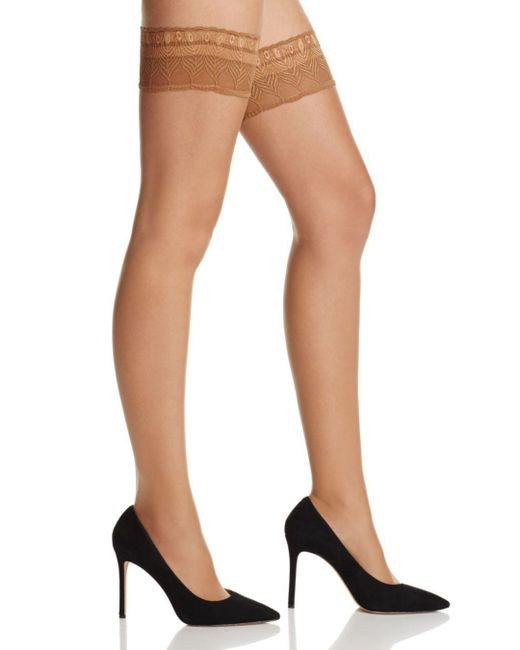 Falke - Multicolor Lunelle 8 Solid Stay Up Tights - Lyst