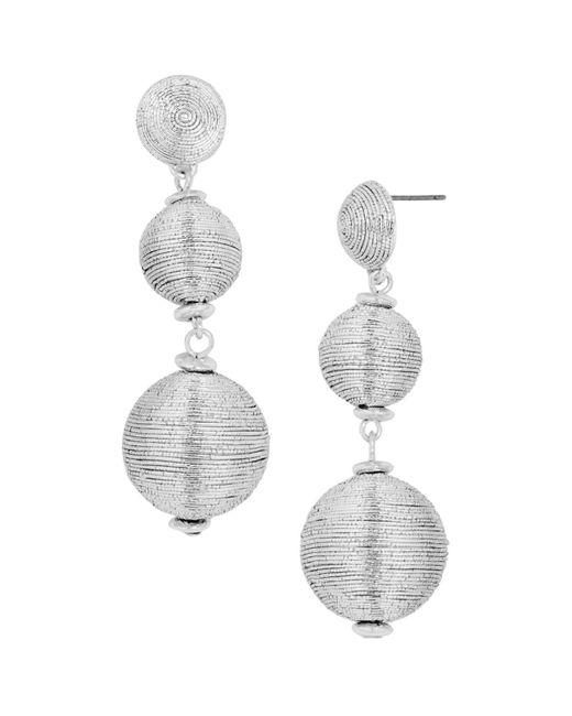 BaubleBar | Metallic Crispin Drop Earrings | Lyst