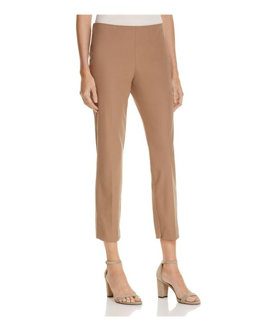Theory | Brown Alettah Cropped Pants | Lyst