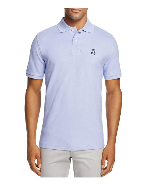 Psycho Bunny | Blue Classic Fit Polo for Men | Lyst