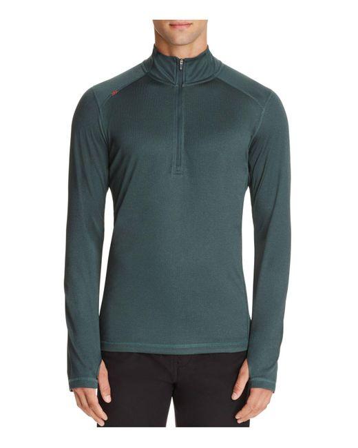 Rhone   Green Sequoia Half-zip Pullover Active Top for Men   Lyst