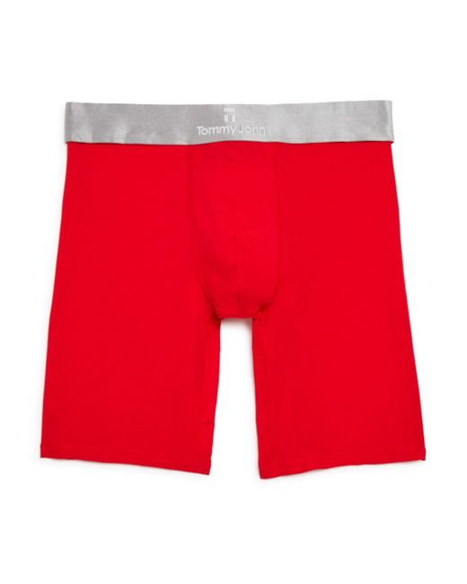 Tommy John | Red Second Skin Boxer Briefs for Men | Lyst