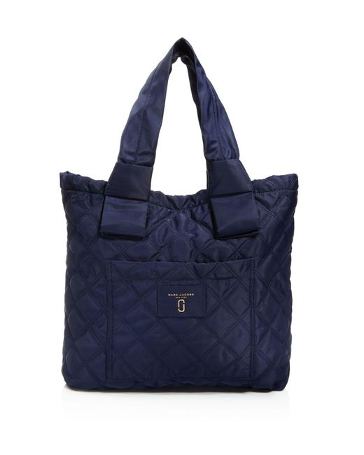 Marc Jacobs | Black Knot Quilted Nylon Tote | Lyst
