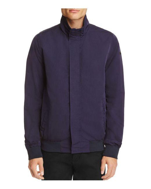 Scotch & Soda | Blue Funnel Collar Jacket for Men | Lyst