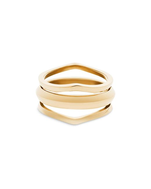 Michael Kors | Metallic Multi Band Ring | Lyst