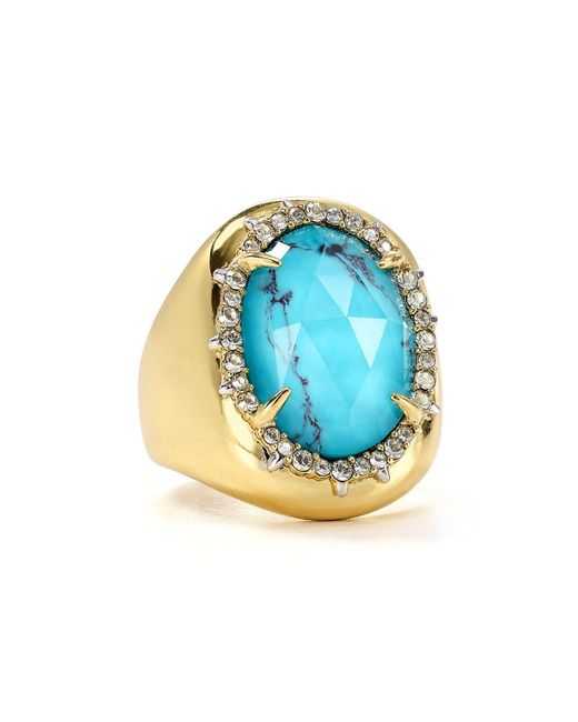 Alexis Bittar | Multicolor Encased Stone Cocktail Ring | Lyst
