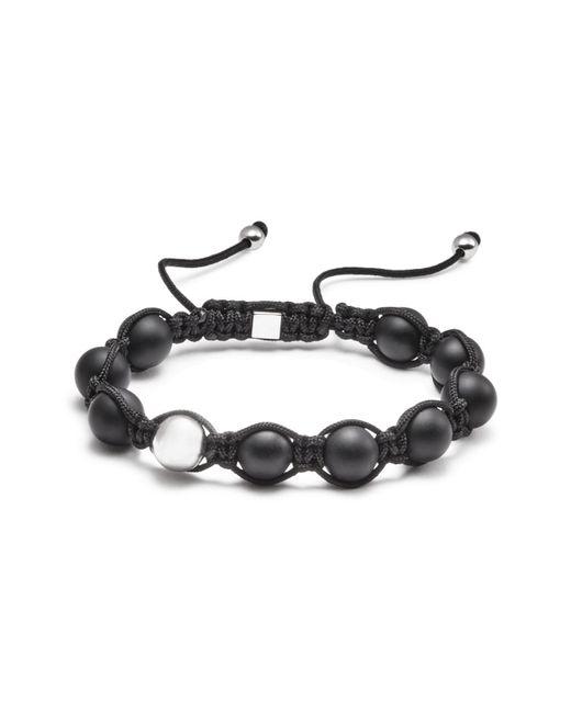 Vitaly | Black Orbis Bead Rope Bracelet | Lyst