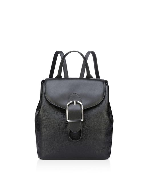 Anne Klein | Black Catherine Leather Backpack | Lyst