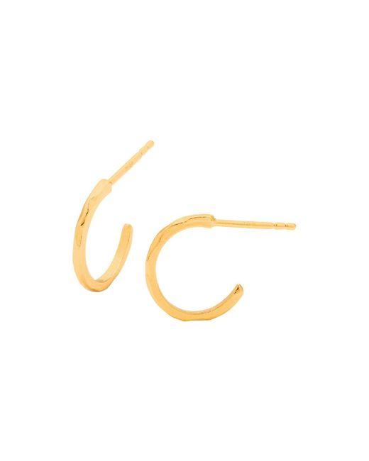 Gorjana | Metallic Taner Mini Hoop Earrings | Lyst