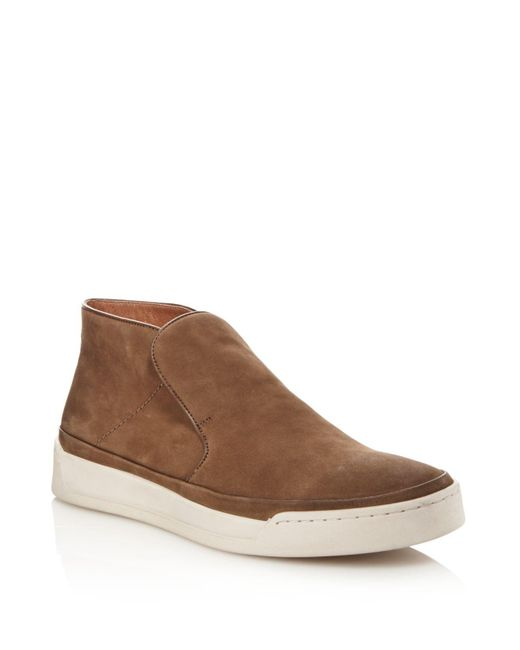 John Varvatos | Brown Remy Slip-on Sneakers for Men | Lyst
