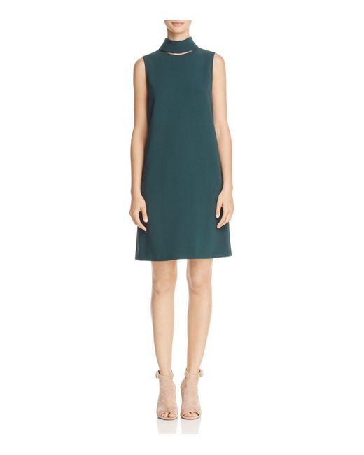 Theory | Multicolor Slit Shift Dress | Lyst