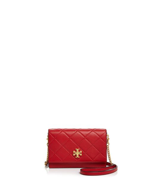 Tory Burch | Multicolor Monroe Turnlock Leather Chain Wallet | Lyst
