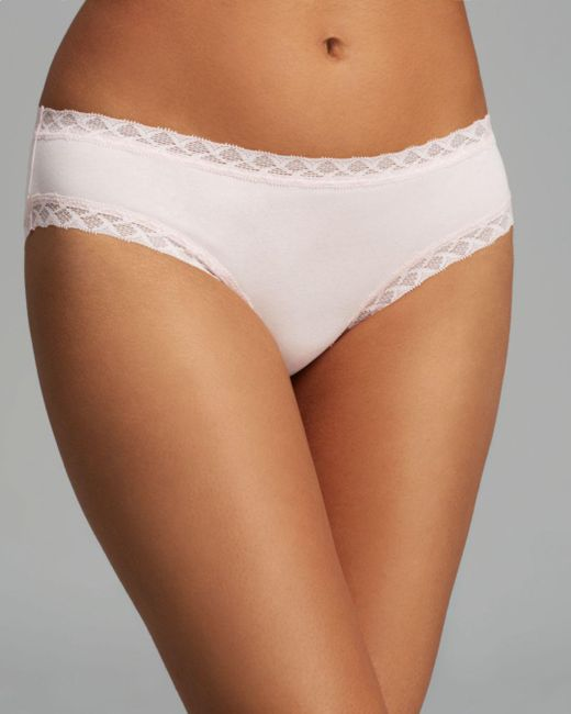 Natori - Pink Bliss Girl Briefs - Lyst