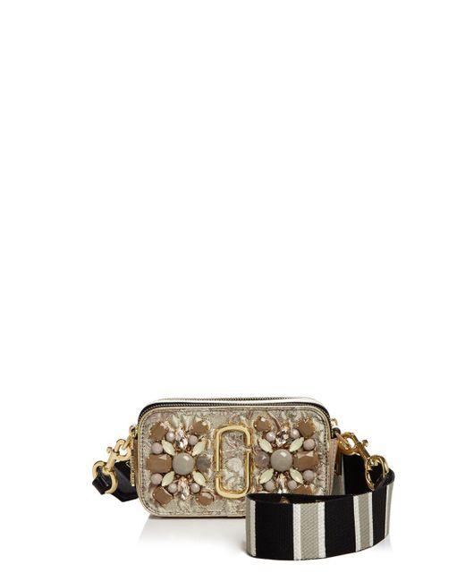 Marc Jacobs - Multicolor Snapshot Floral Brocade Bag - Lyst