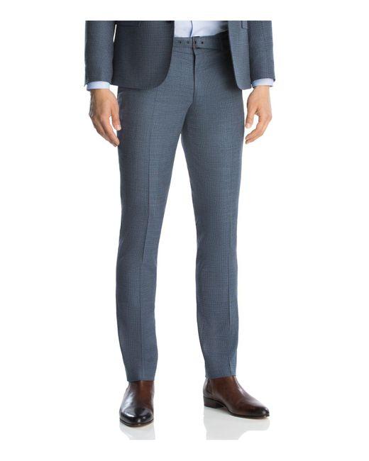 The Kooples | Blue Super 100 Slim Fit Trousers for Men | Lyst