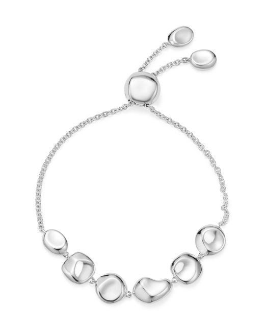 Ippolita - Metallic Sterling Silver Glamazon® Pebble And Chain Bracelet - Lyst