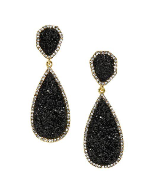 BaubleBar - Black Moonlight Drop Earrings - Lyst