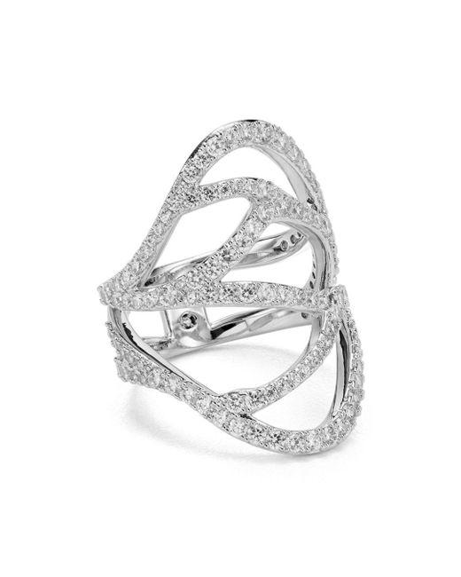 Nadri - Metallic Corsage Ring - Lyst