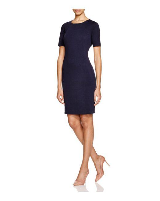 T Tahari | Blue Judianne Sheath Dress | Lyst