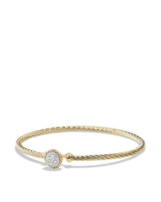 David Yurman | Metallic Châtelaine Bracelet With Diamonds In 18k Gold | Lyst