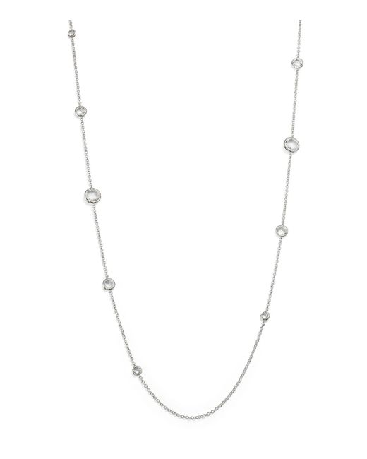 Ippolita - Metallic Sterling Silver Rock Candy® Lollipop Necklace In Clear Quartz - Lyst