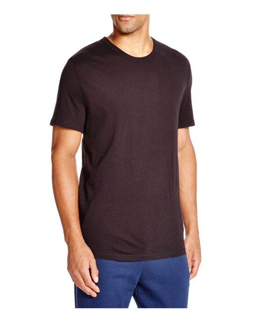 T By Alexander Wang | Black Classic Short Sleeve Tee for Men | Lyst