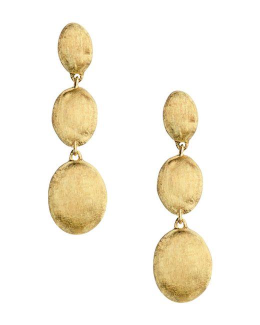 Marco Bicego - Metallic 18k Yellow Gold Siviglia Drop Earrings - Lyst