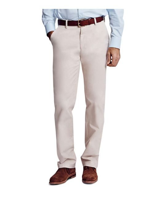Thomas Pink   Natural Voltaire Regular Fit Chino Pants for Men   Lyst