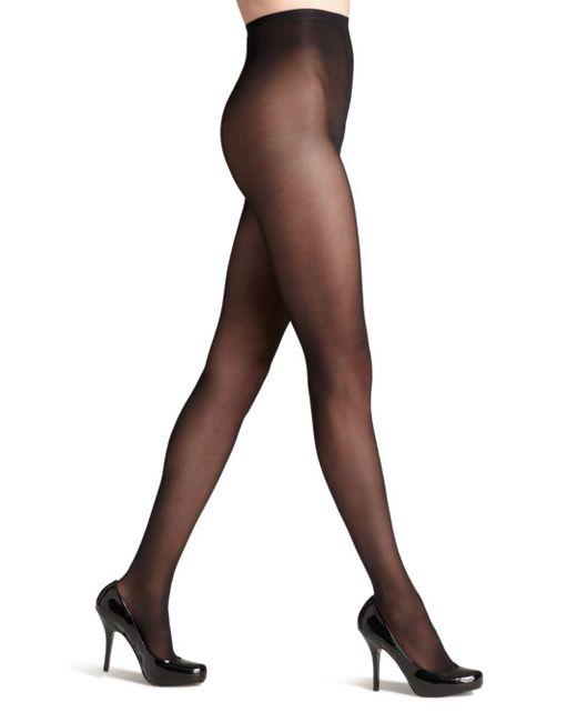 Donna Karan - Black Evolution Seasonless Tights - Lyst