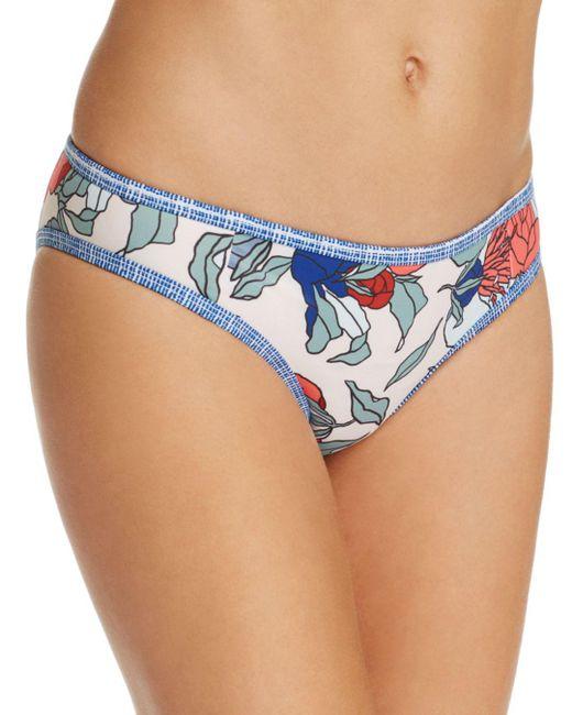 Tavik - Blue Jett Floral Bikini Top - Lyst