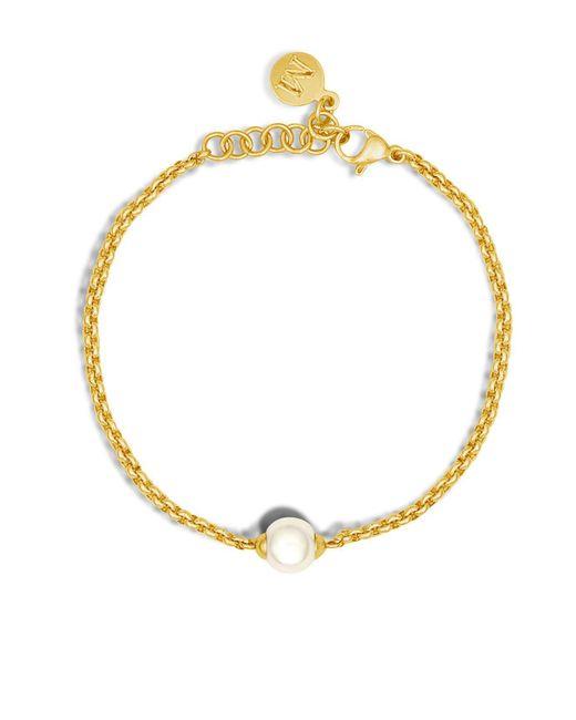 Majorica - Metallic Classic Link Bracelet - Lyst