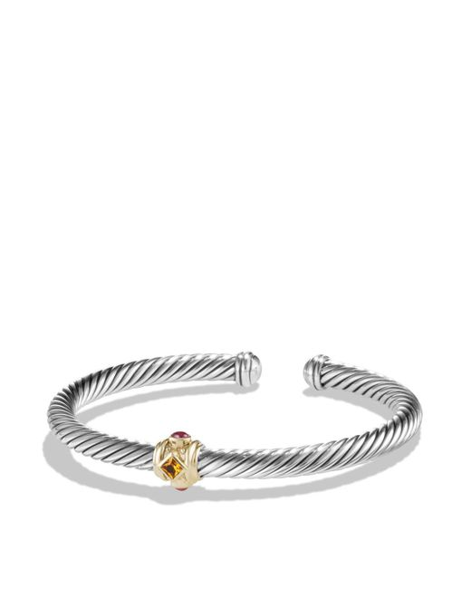 David Yurman | Metallic Rhodalite Garnet And 14k Gold | Lyst