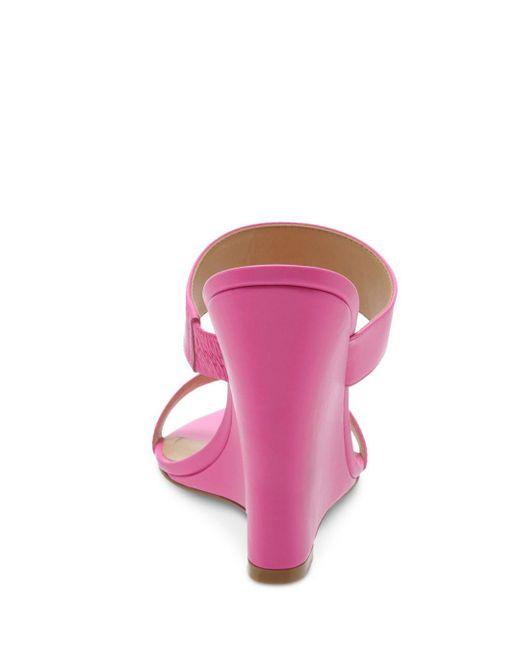 d859ecd3e7a6 Schutz Women s Soraya High-heel Wedge Sandals in Pink - Lyst