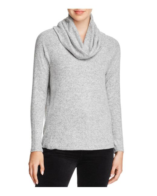 Soft Joie - Gray Cappella Cowl-neck Sweater - Lyst