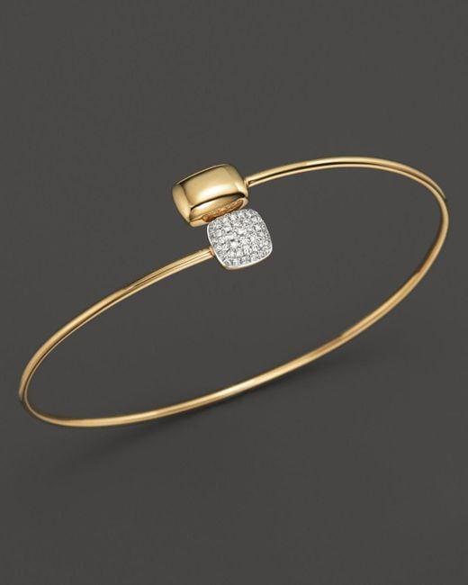 KC Designs - Metallic Diamond Square & Rectangle Bracelet In 14k Yellow Gold - Lyst
