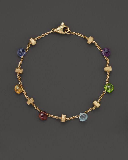 Marco Bicego - Metallic Paradise Mixed Sapphires Bracelet - Lyst