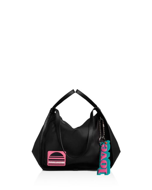 Marc Jacobs - Black Sport Nylon And Leather Tote - Lyst