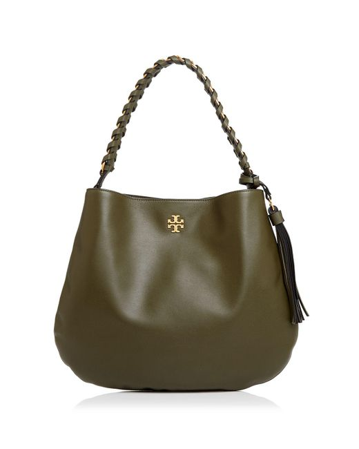 Tory Burch - Multicolor Brooke Leather Hobo - Lyst