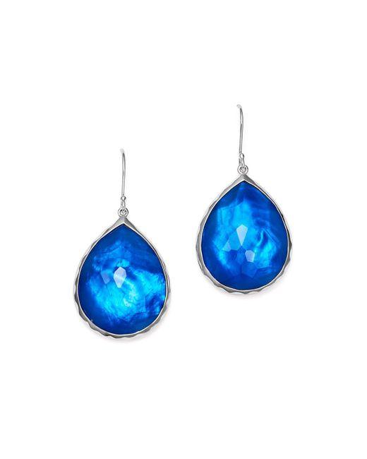 Ippolita | Blue Sterling Silver Rock Candy® Wonderland Teardrop Earrings In Ultramarine | Lyst