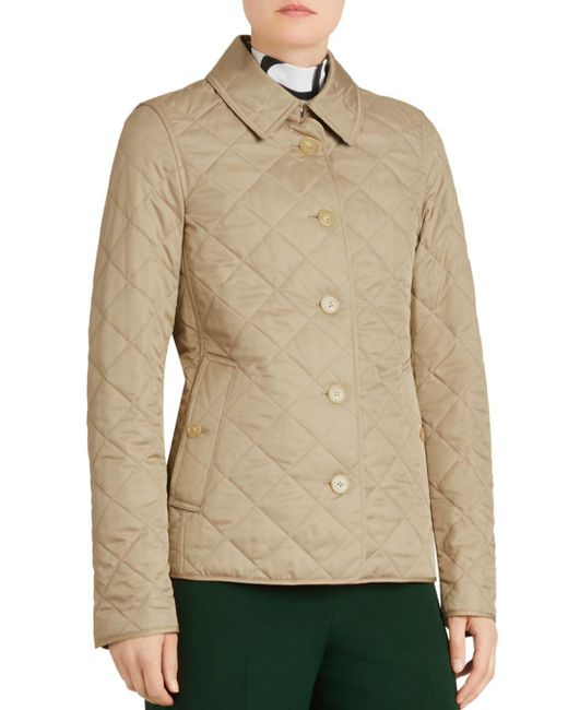 Burberry - Multicolor Frankby Quilted Jacket - Lyst