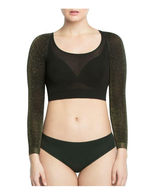 Spanx | Multicolor Shimmer Arm Tights | Lyst