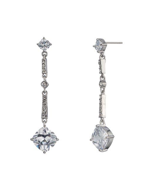 Carolee | Metallic Modern Linear Drop Earrings | Lyst