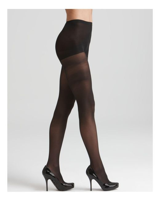 Hue | Black Light Opaque Tights | Lyst