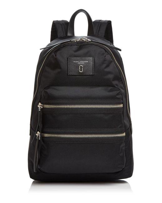 Marc Jacobs - Black Biker Medium Nylon Backpack - Lyst
