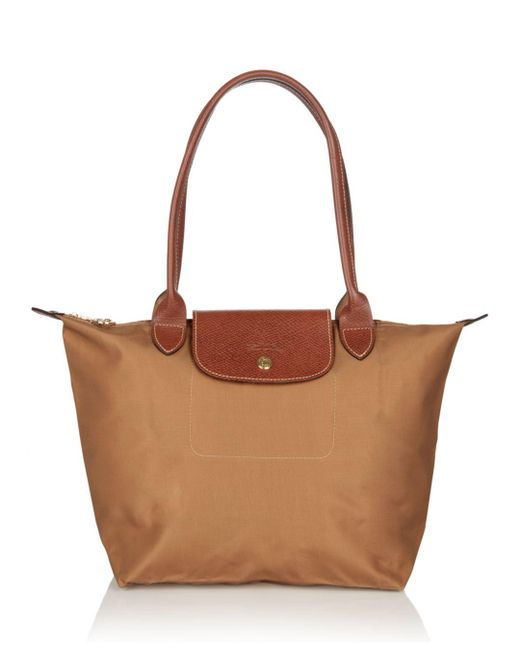 Longchamp - Natural Le Pliage Medium Nylon Tote - Lyst