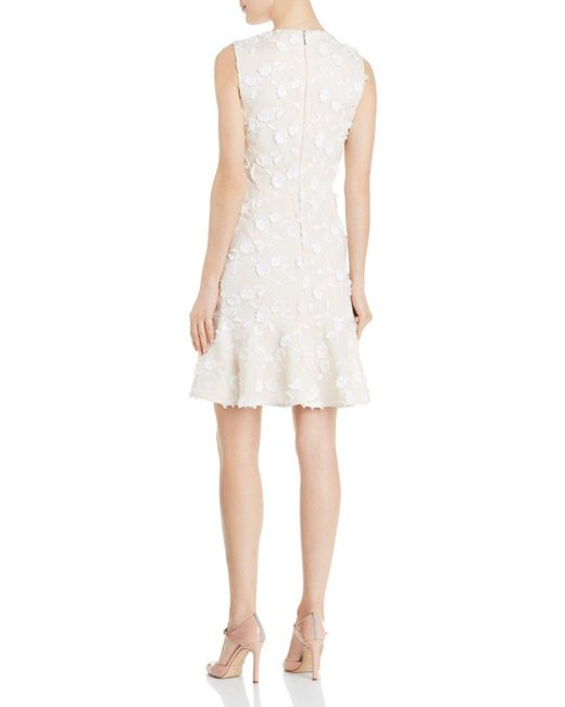 eb4b865eaf2 ... Rebecca Taylor - Multicolor Nicola Floral - Embroidered Dress - Lyst ...