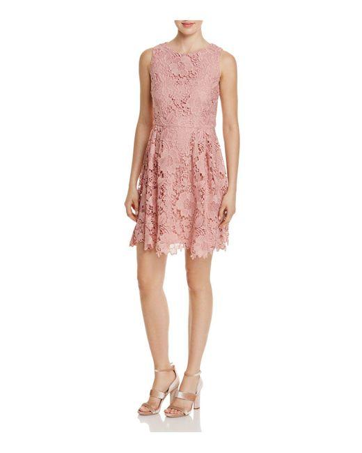 Cece by Cynthia Steffe | Pink Claiborne Lace Dress | Lyst